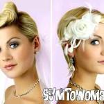 Весільні зачіски на коротке волосся: 40 кращих варіантів